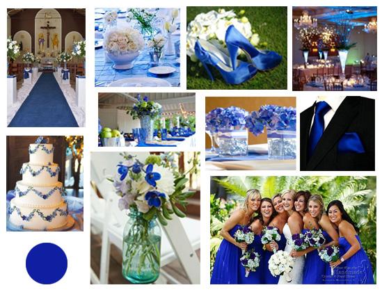 decoracao azul royal e amarelo casamento:Paletas de cores para o seu casamento 2015